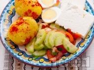 Рецепта Българска вечеря